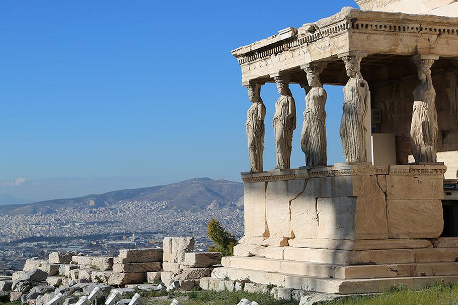 그리스 아테네 에렉테이온