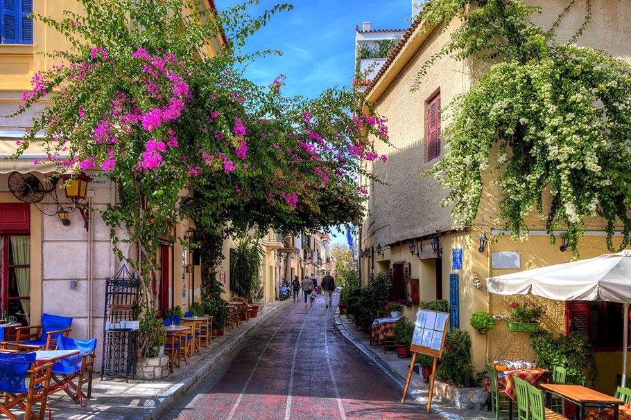 그리스 아테네 플라카