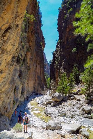 그리스 크레타섬 사마리아 협곡