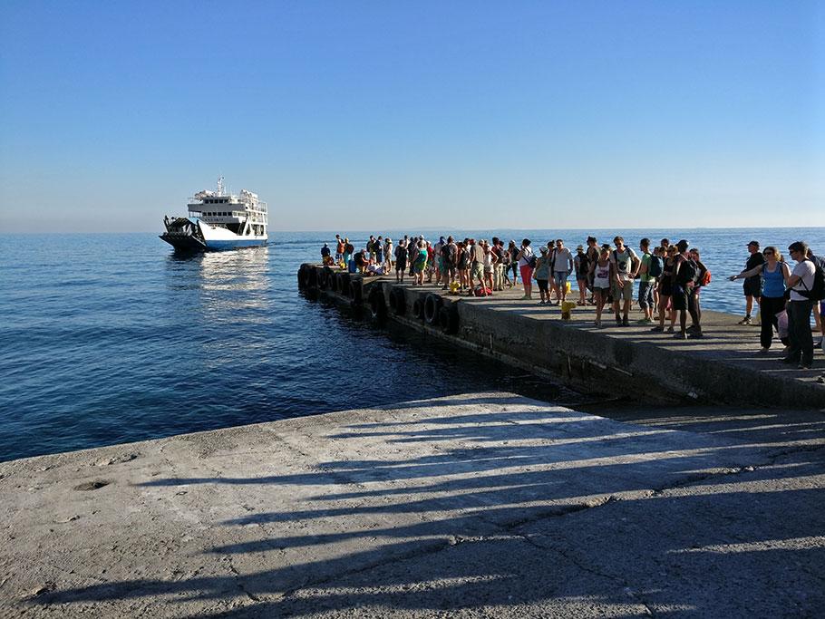 그리스 크레타섬 페리