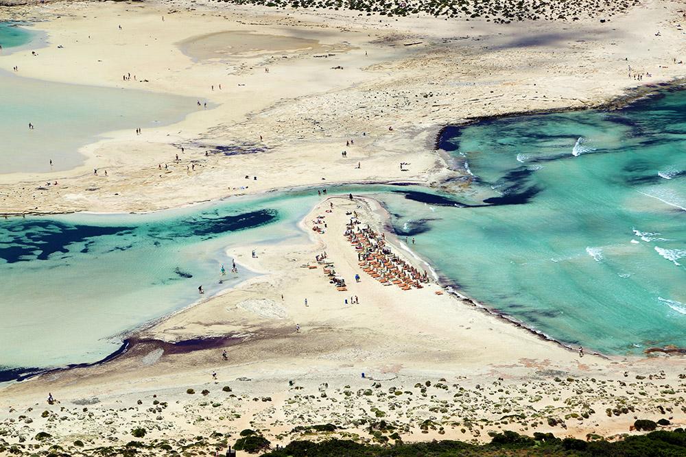 발로스 해변 & 석호