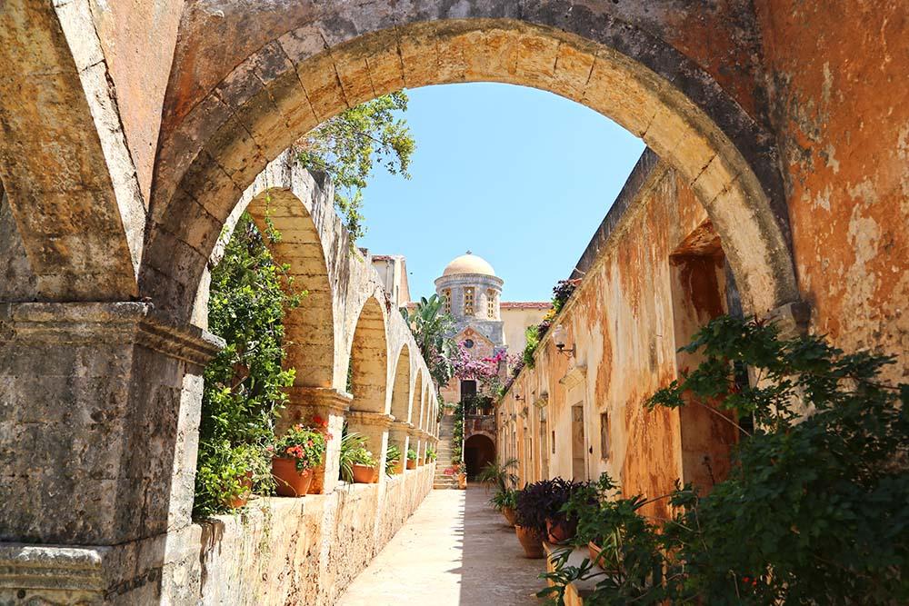 아이아 트리아다 수도원 - 그리스 크레타섬